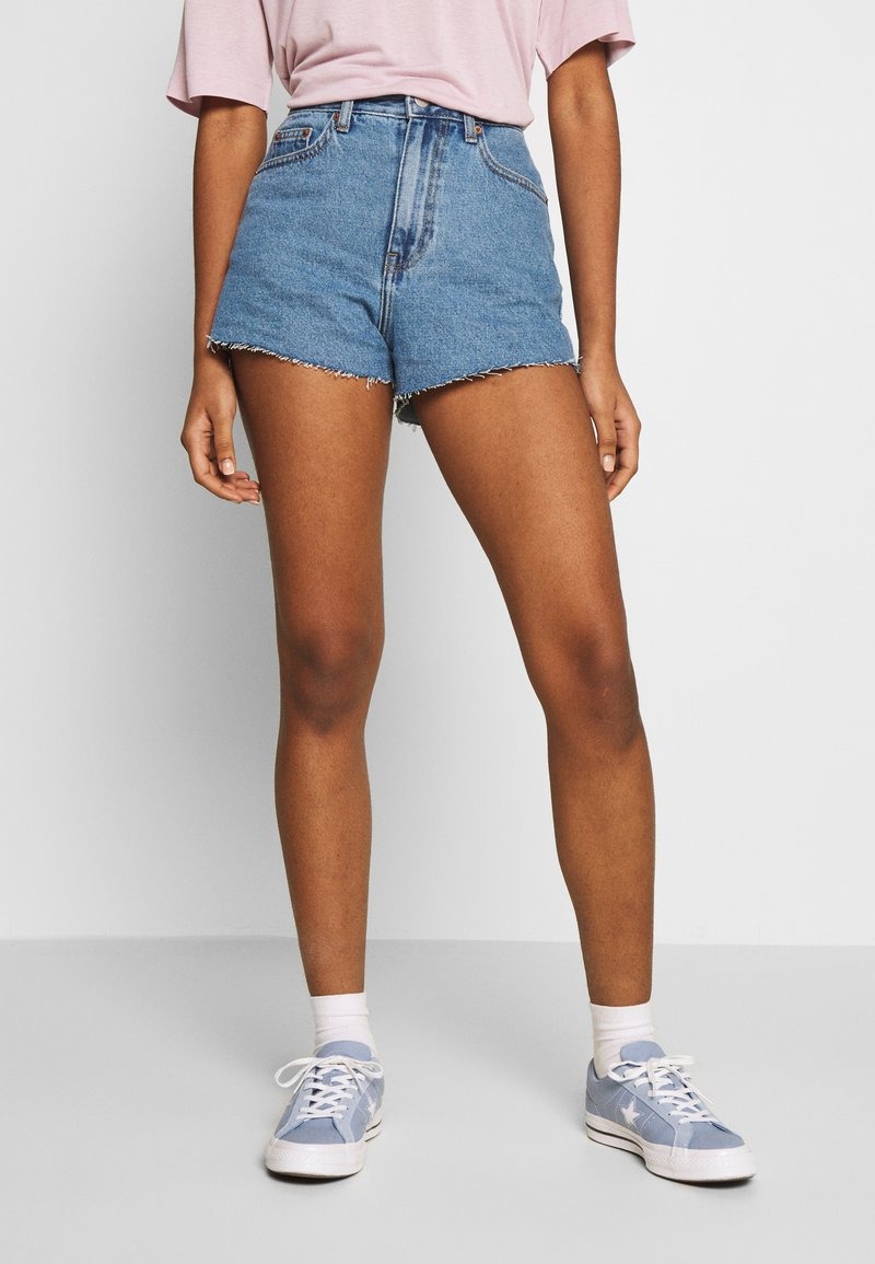 Dr.Denim - SKYE - Jeansshorts - retro sky blue