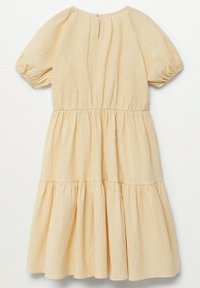 Mango - OHIO - Robe d'été - pastel yellow - 1