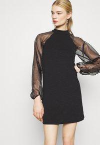 Pieces - PCNALLY DRESS - Cocktail dress / Party dress - black - 3