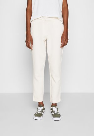LELY CIGARETTE PANT - Trousers - whitecap gray
