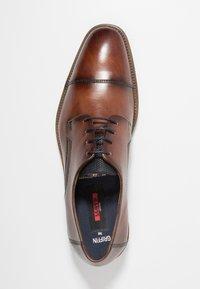 Lloyd - GRIFFIN - Zapatos con cordones - cioccolato/ocean - 1