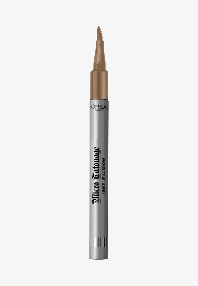 UNBELIEVA BROW MICRO TATOUAGE - Crayon sourciles - 101 blonde
