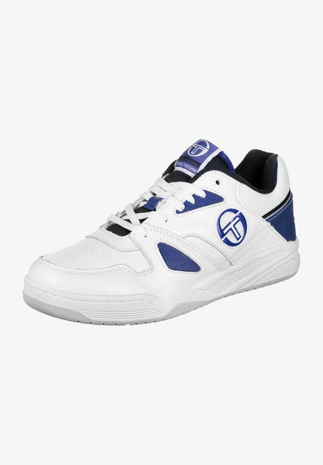 Trainers - white/blue/navy