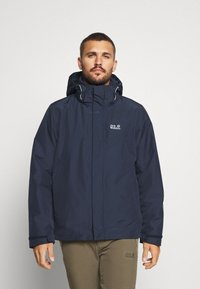Jack Wolfskin - ARLAND 3 IN 1 - Outdoorjacke - night blue - 0