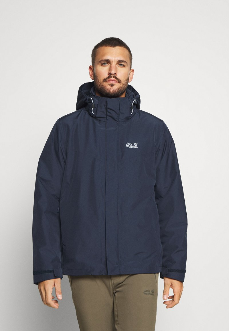 Jack Wolfskin - ARLAND 3 IN 1 - Outdoorjacke - night blue