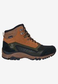 Haglöfs - SKUTA MID PROOF ECO - Hiking shoes - olive/brown - 4