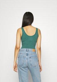 BDG Urban Outfitters - DREW SCOOP BODYSUIT - Top - teal - 2