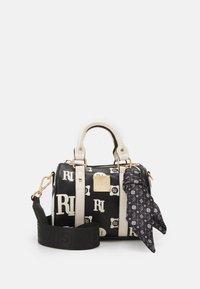River Island - EMBOSS AND PRINTED BOWLER - Handbag - black - 0