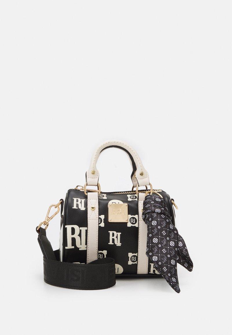 River Island - EMBOSS AND PRINTED BOWLER - Handbag - black