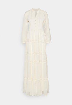 YASBLASSY MAXI DRESS  - Maxiklänning - pearled ivory