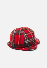 Mini Rodini - CHECK UNISEX - Cap - red - 1