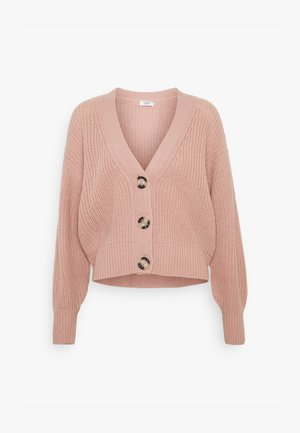 JDYJUSTY SHORT - Cardigan - woodrose