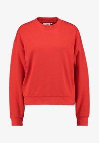 Weekday - HUGE CROPPED - Sweatshirt - red - 4