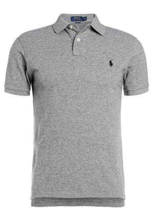 SLIM FIT - Polo shirt - canterbury heather