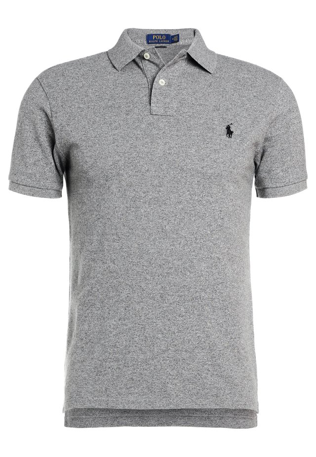 SLIM FIT - Polo shirt - canterbury heather