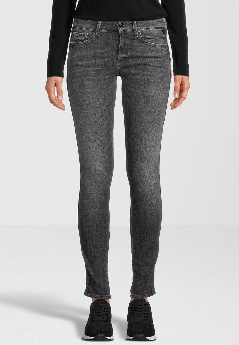 Replay - NEW LUZ - Jeans Skinny Fit - grey