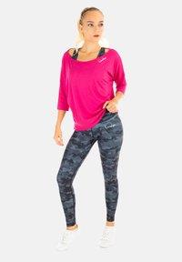 Winshape - MCS001 ULTRA LIGHT - Long sleeved top - deep pink - 2