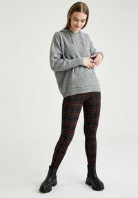 DeFacto - Leggings - Trousers - bordeaux - 3