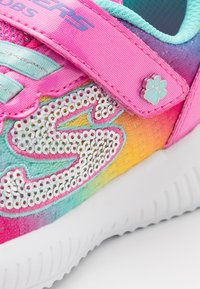 Skechers - BOBS SQUAD - Trainers - pink/turquoise - 5