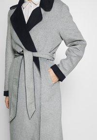 Expresso - BRENDA - Classic coat - hellgrau - 5