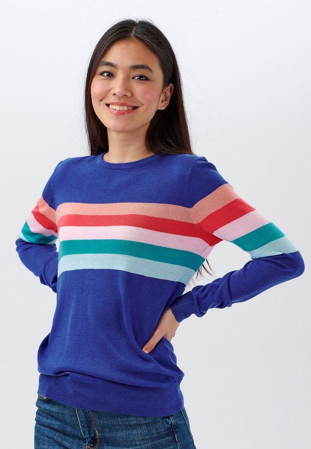 VELMA SHERBET - Pullover - blue