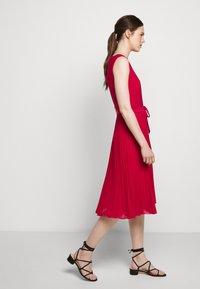 Lauren Ralph Lauren - MID WEIGHT DRESS  COMBO - Day dress - berry sorbet - 6