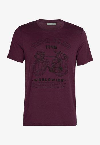 Print T-shirt - brazilwood
