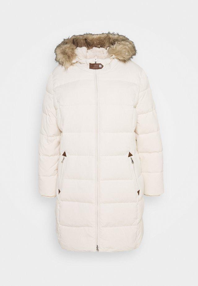 Down coat - moda cream
