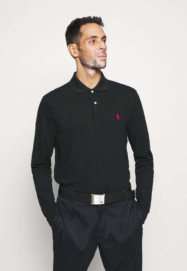 LONG SLEEVE - Poloshirt - black