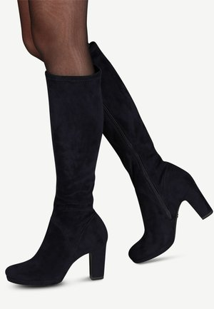 BOOTS - High heeled boots - navy