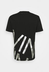 Calvin Klein - GOLD BIG - T-shirt con stampa - black/silver - 1