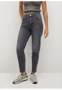 Mango - NEWMOM - Slim fit jeans - open grijs - 0