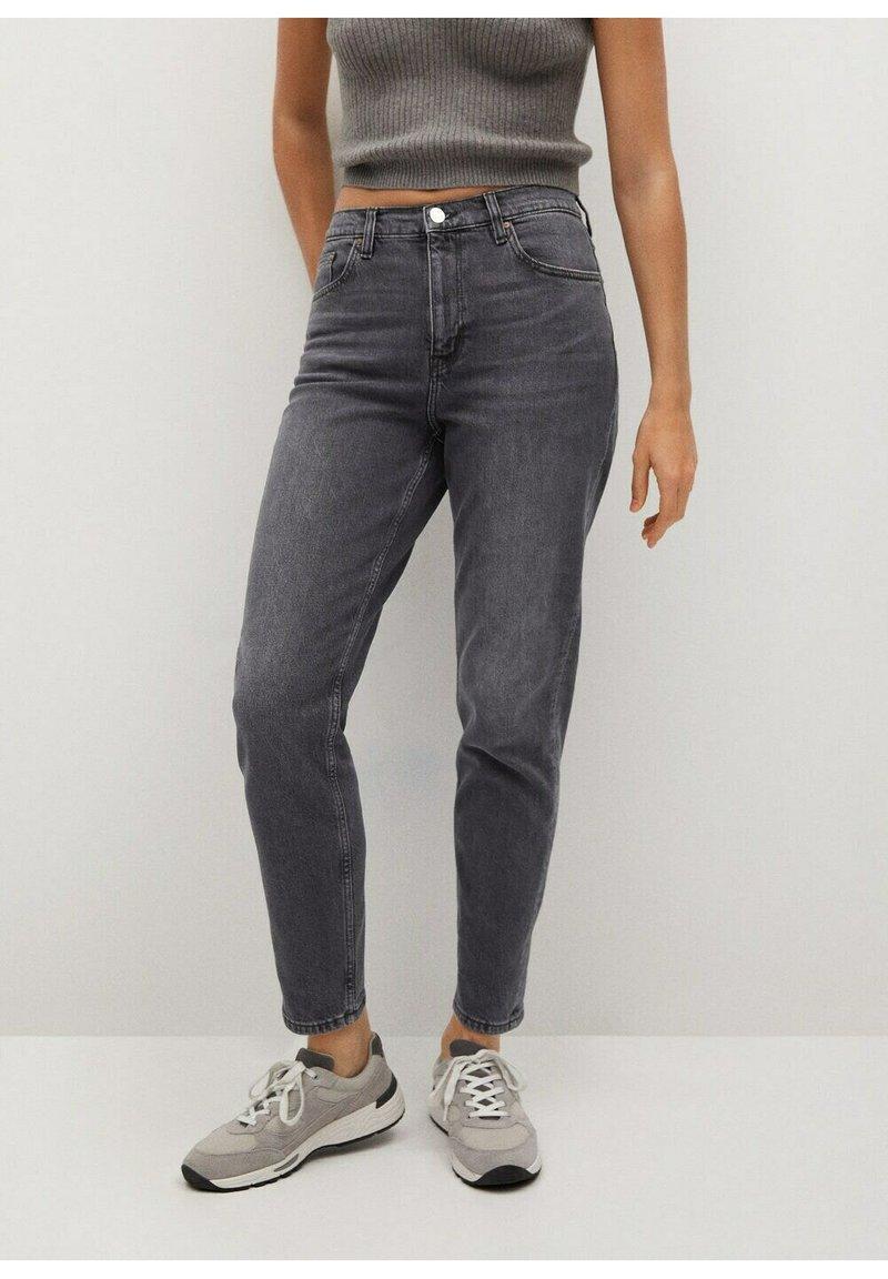 Mango - NEWMOM - Slim fit jeans - open grijs