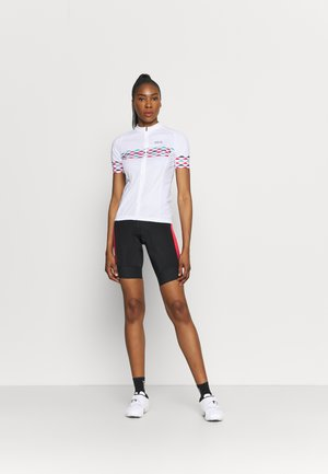SKYLINE - Print T-shirt - white/blue