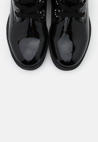 Jana - Lace-up ankle boots - black patent - 5