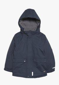 Minymo - SNOW JACKET SOLID - Zimní kabát - ombre blue - 1