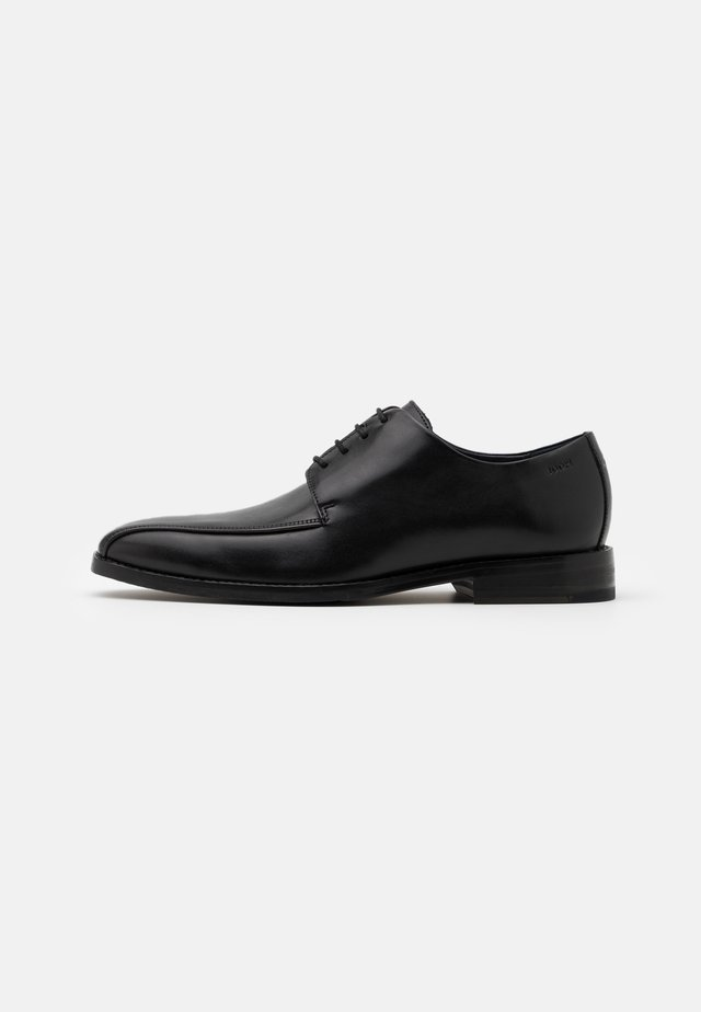 PERO PHILEMON PISTA LACE UP - Zapatos con cordones - black