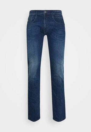 ANBASS - Straight leg -farkut - blue