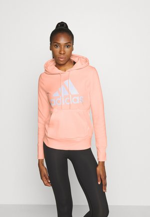 Sweat à capuche - coral