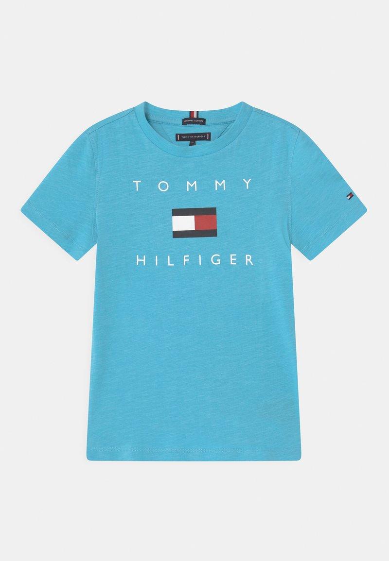 Tommy Hilfiger - LOGO - Print T-shirt - seashore blue