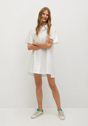 MILLE-H - Shirt dress - blanco