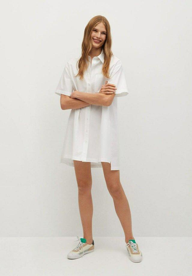 MILLE-H - Blusenkleid - blanco