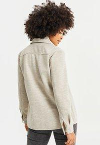 WE Fashion - Button-down blouse - beige - 2