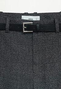 Mango - BORECUAD - Trousers - grey - 6