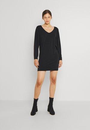 VIEBONI DRESS - Jersey dress - black