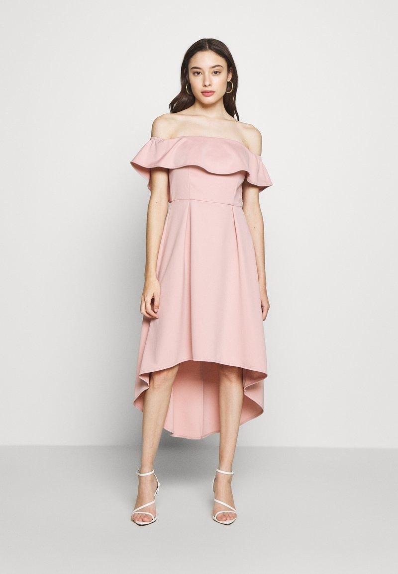 Chi Chi London Petite - WANDA DRESS - Sukienka koktajlowa - mink