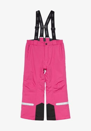 Snow pants - dark pink
