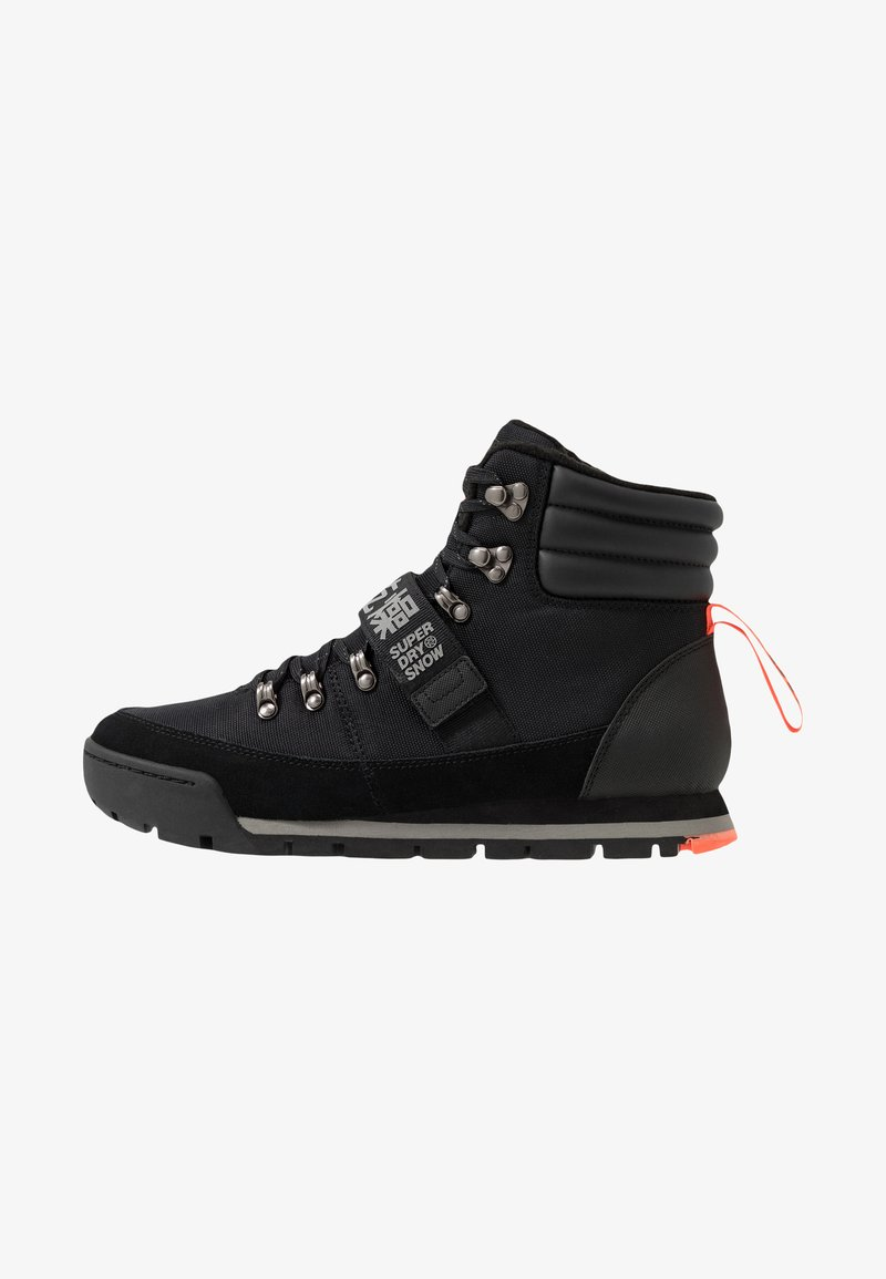 Superdry - OUTLANDER - Lace-up ankle boots - black