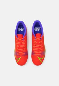 Nike Performance - MERCURIAL VAPOR 14 ACADEMY TF - Astro turf trainers - bright crimson/metallic silver - 3
