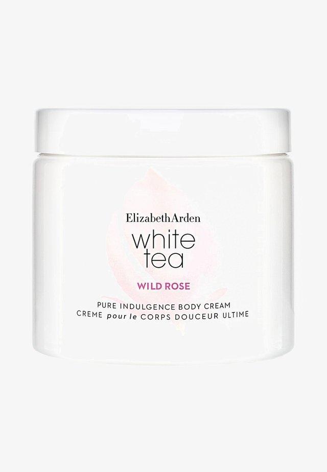 WHITE TEA WILD ROSE BODY CREAM - Hydratant - -